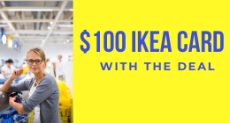IKEA Shopping Deal - 2 night min